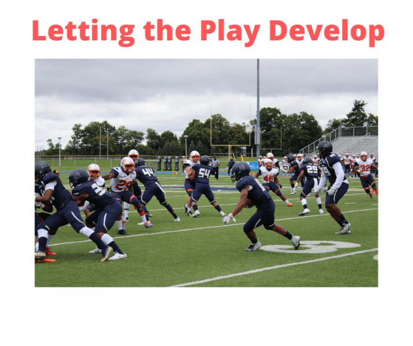 letting the play develop
